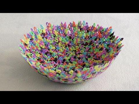 Тарелка из Бусин Термомозаики / Plate Of HAMA Beads