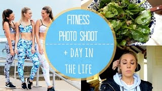 Fitness Photoshoot | Day In The Life