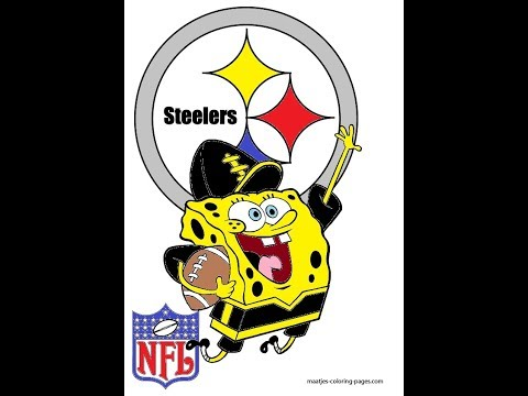 The Pittsburgh Steelers Potrayed By Spongebob