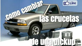 Video Como Cambiar las crucetas de la Flecha de una camioneta (pickup) download MP3, 3GP, MP4, WEBM, AVI, FLV Juni 2018