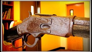 First Public Look! 132 Year Old Winchester Rifle Found in Nevada Under A Tree !! thumbnail