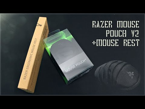 5e1f48ce2f4 UNBOXING - RAZER MOUSE POUCH V2 + MOUSE REST - YouTube
