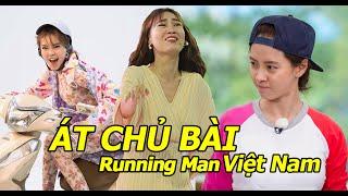 """Liệu Ninh Dương Lan Ngọc có """"nối gót"""" Song Ji Hyo trở thành ÁT CHỦ BÀI của RUNNING MAN VIỆT NAM?"""