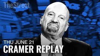 Jim Cramer on Intel CEO, Disney, Netflix, Micron & Williams Sonoma