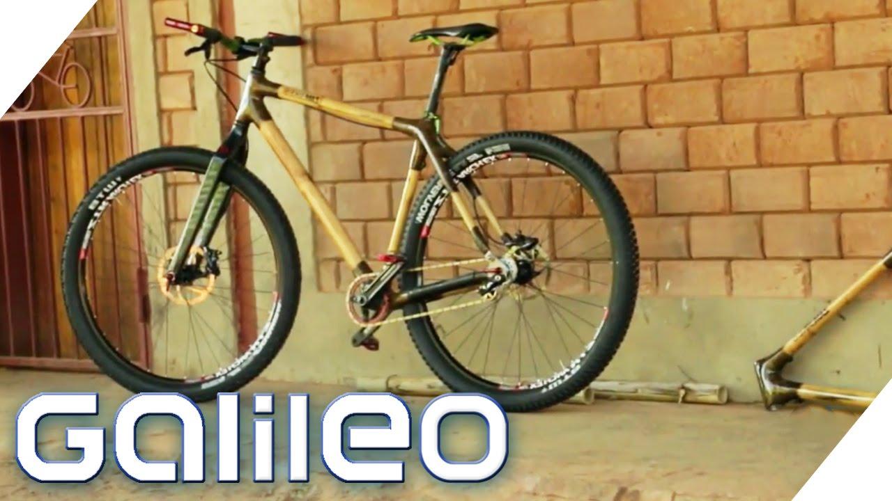 Fahrrad-Trend Bambusbike | Galileo | ProSieben - YouTube