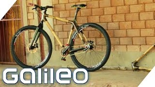 Fahrrad-Trend Bambusbike | Galileo | ProSieben