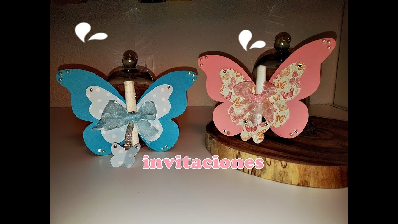 Invitaciones De Mariposas Butterfly S Cards