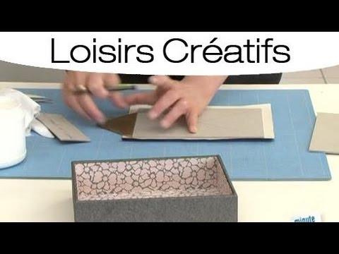 Faire son propre couvercle de boite bijoux youtube - Comment fabriquer une boite a bijoux ...