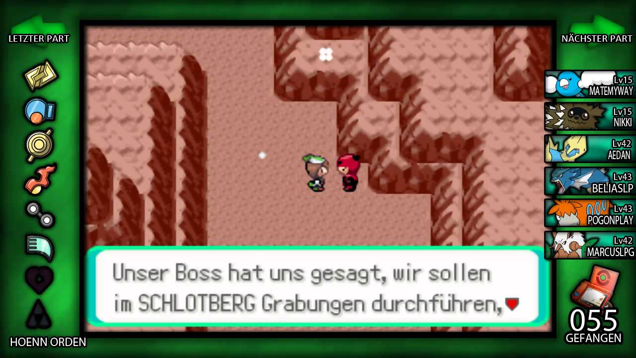 Pokemon Smaragd 43 Team Magmas Versteck Youtube