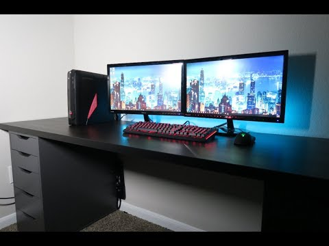IKEA Gamer Desk Build