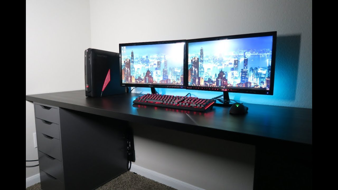 diy gaming computer desk