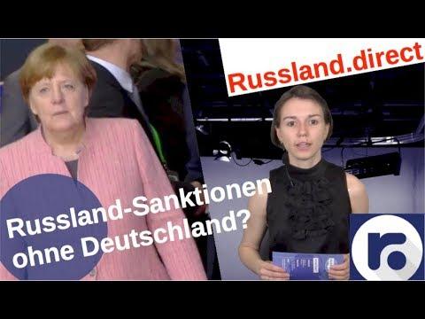 Russlandsanktionen - ohne Deutschland?