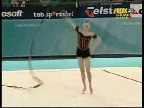 Carly Orava 2006 Commonwealth Games Ribbon Team Final