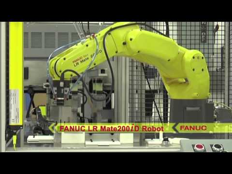 Robotic System for Inspection & Assembly of Plastic Parts - Palladium Control Systems