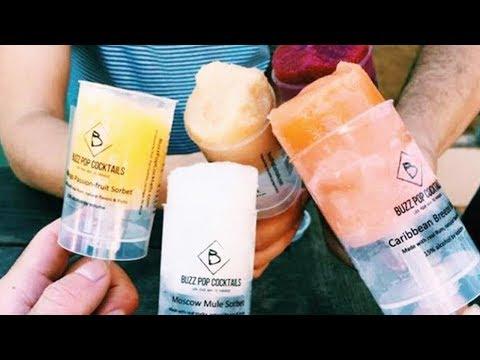 Frozen Boozy Push-Pops Are Summer's Hot New Treat