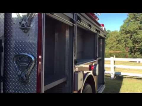 04465 2007 Pierce Contender Custom Rescue Pumper