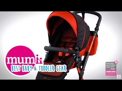 JANÉ CROSSWALK shortlisted in the Mumii Best Baby & Toddler Gear Awards 2016!