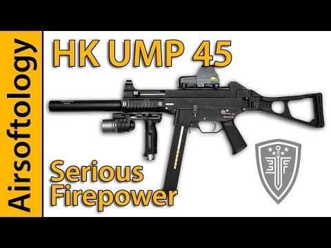 CQB Monster?    HK UMP45 Review   Elite Force & Umarex   Airsoftology