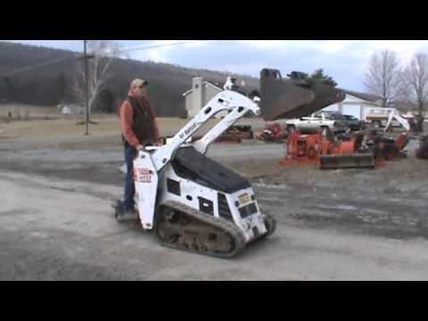 2008 Bobcat Mt52 Mini Rubber Track Skid Steer Loader For