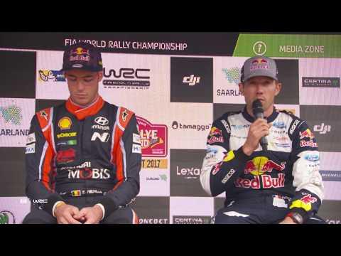 WRC - ADAC Rallye Deutschland 2017: Press Conference Thursday