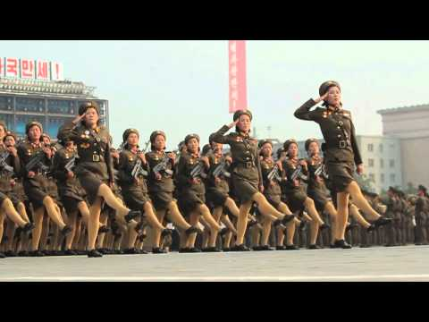North Korea's Military Parade In Slow Motion On Vimeo