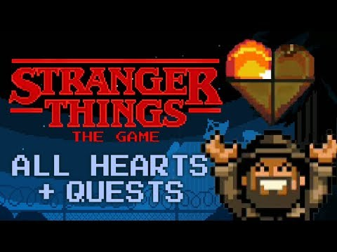 Stranger Things: The Game -  All 40 Hearts And 100% Completion Reached