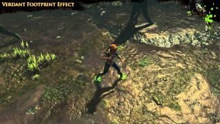 Path of Exile - Verdant Footprint Effect