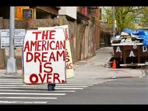 THE AMERICAN DREAM IS A NIGHTMARE FOR MANY