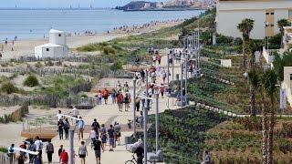 Inauguration du promenoir à Marseillan Plage