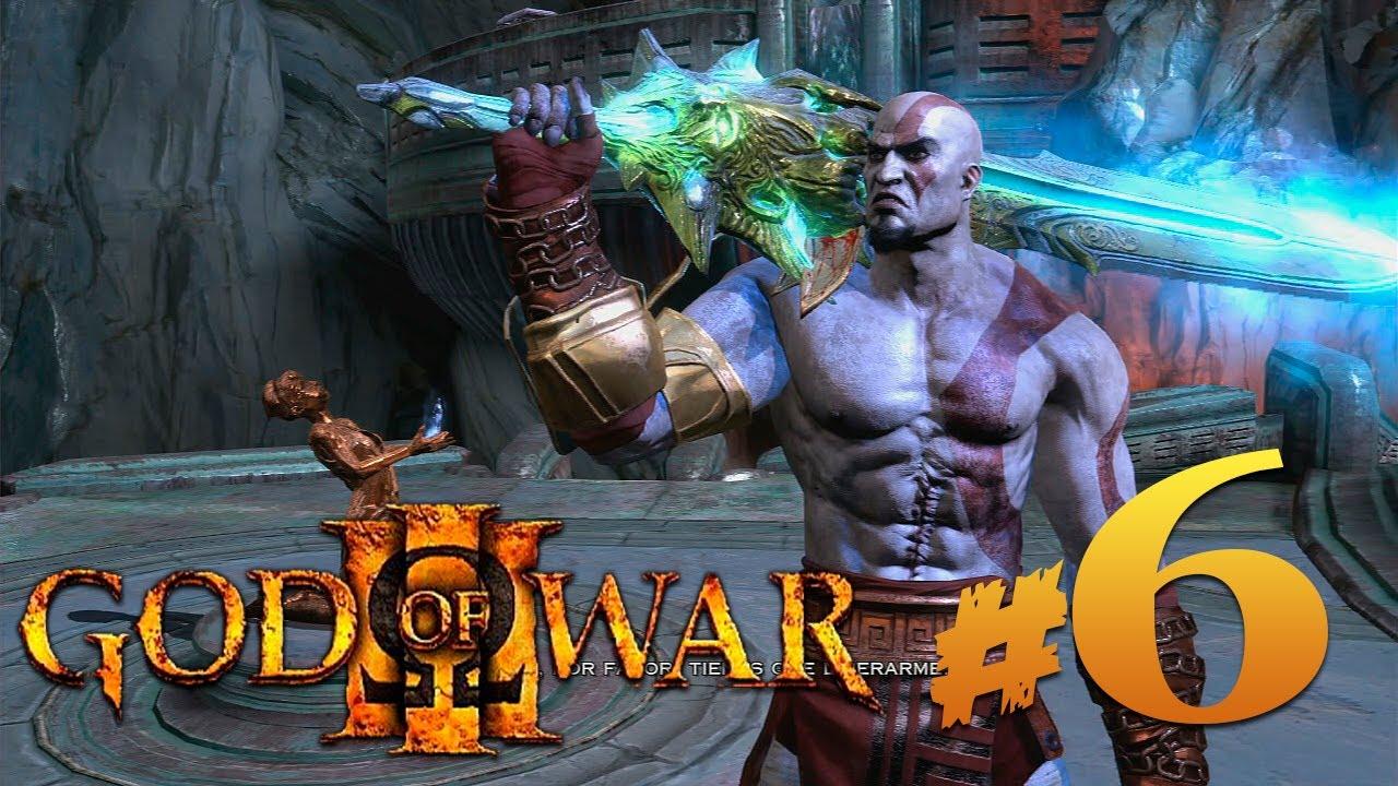 God of war 3 6 la espada del olimpo youtube for God of war 3 jardines del olimpo
