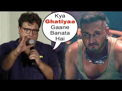 Tigmanshu Dhulia's SHOCKING INSULT To Honey Singh In Front Of Media