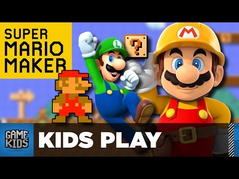 Super Mario Maker Easter Eggs And Custom Levels - Kids Play