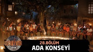 Ada konseyi | 28.Bölüm | Survivor 2018