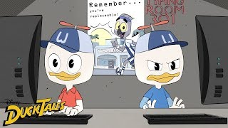 Dueling Interns | DuckTales | Disney XD