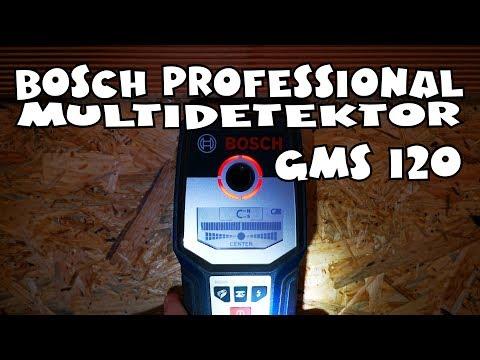 Bosch Professional Ortungsgerät GMS 120 Multidetektor