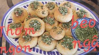 Vlog 187 ll Cách làm bánh bao phô mai bơ tỏi tan chảy ngon mê mẩn❤