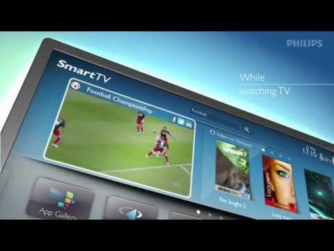 Smart TV Social media internet apps 2012 EN 1