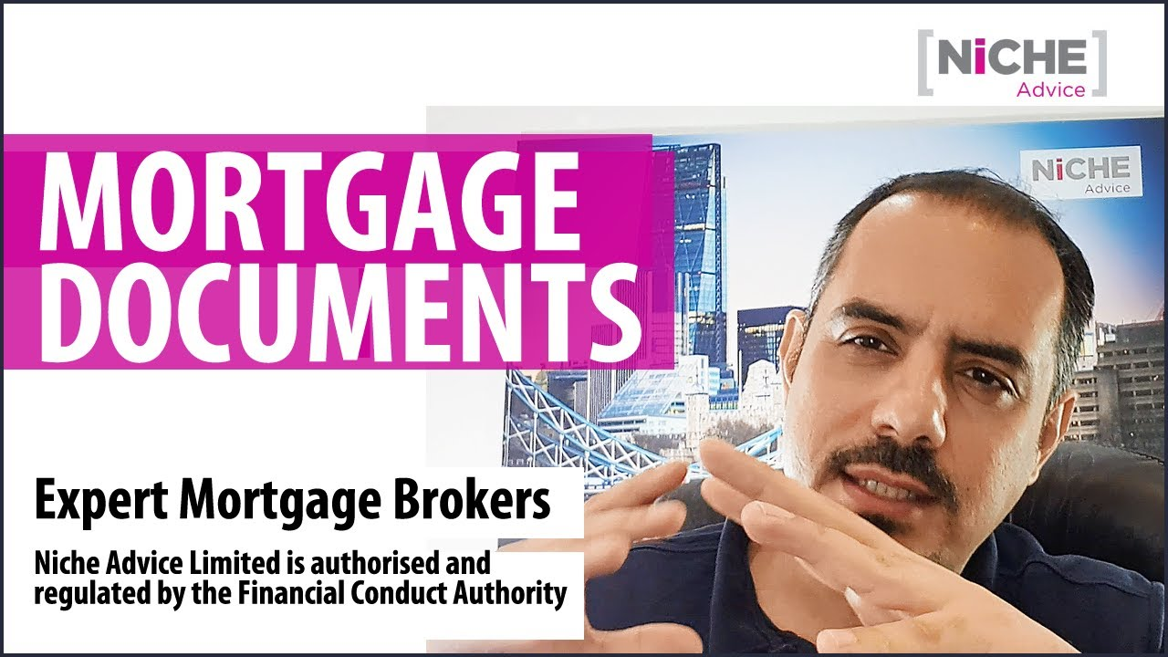 What documents are needed to get a Mortgage