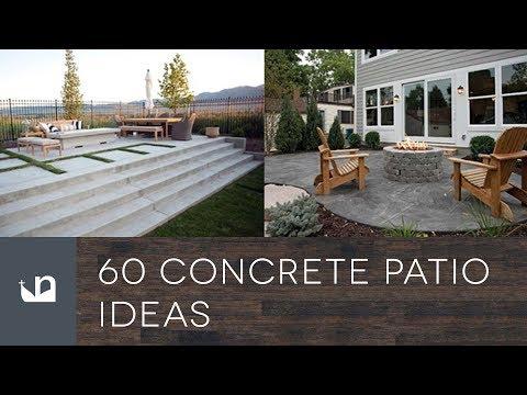 60 Concrete Patio Ideas
