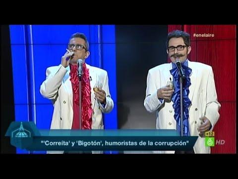 "En el aire - Bigotón: ""Correa, agárramela que se me menea"""