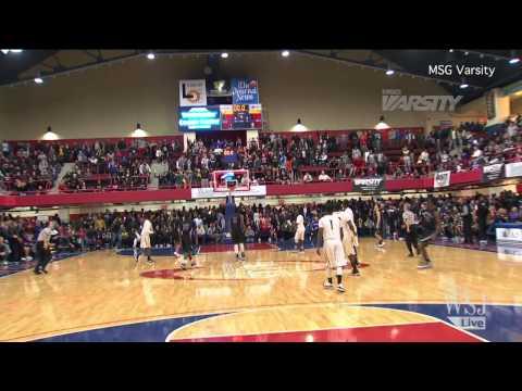 New Rochelle Basketball Game Winning Shot Video - New Rochelle vs. Mount Vernon