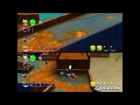 Pikmin 2 Gamecube Gameplay Battle Mode Moving The Marbles Youtube