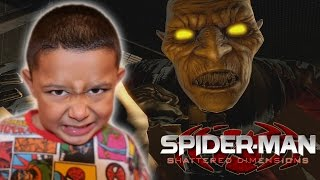 VULTURE WANTS TO KILL SPIDER-MAN | Spiderman Shattered Dimension Gameplay Walkthrough PART 8