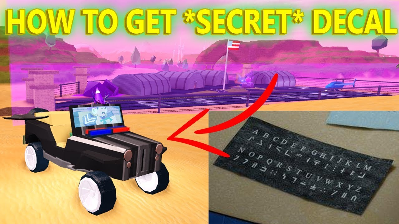 How to get the secret armor texture roblox jailbreak