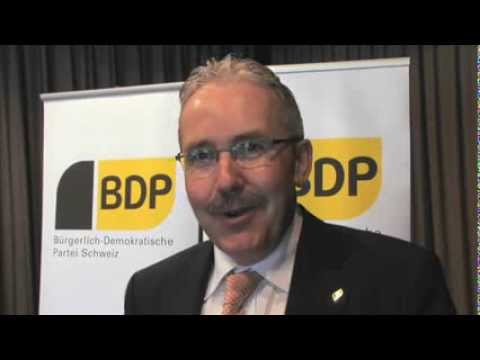 Rückschau von BDP Präsident Hans Grunder auf Frühlingssession 2009