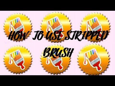 How Tu Use Striped Brush In Candy Crush Saga Youtube