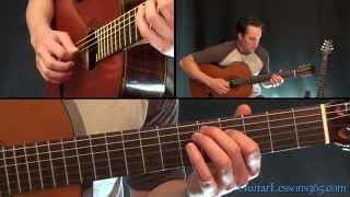 Goodbye Blue Sky Guitar Lesson - Pink Floyd