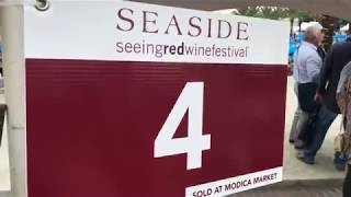 Seeing Red Wine Festival in Seaside, Florida 2017