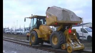 CeDe Rail Hydrema dumper