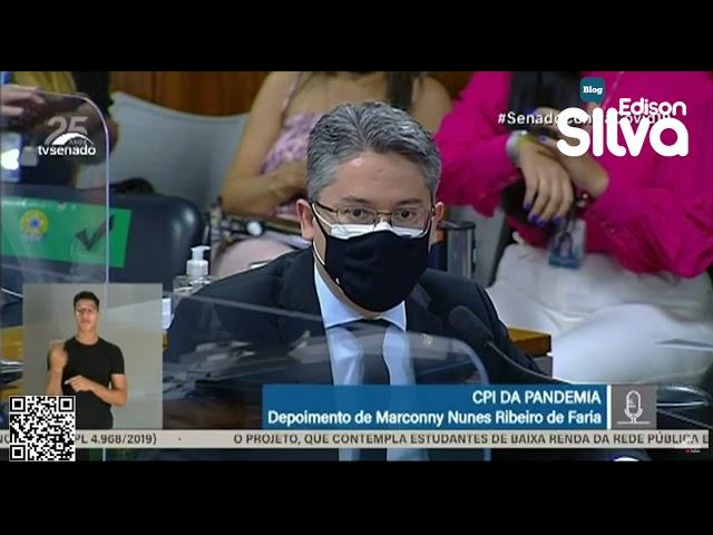 Depoente assume conhecer filho do presidente Jair Bolsonaro